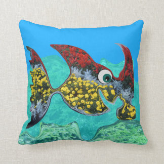 Happy Hammerhead Cushion