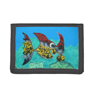 Happy Hammerhead Tri-fold Wallet