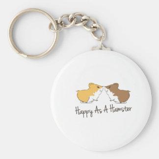 Happy Hamster Keychain