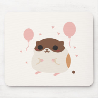 Happy Hamster's Perfect Morning Poop Mouse Mat