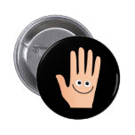 Happy Hand Pins