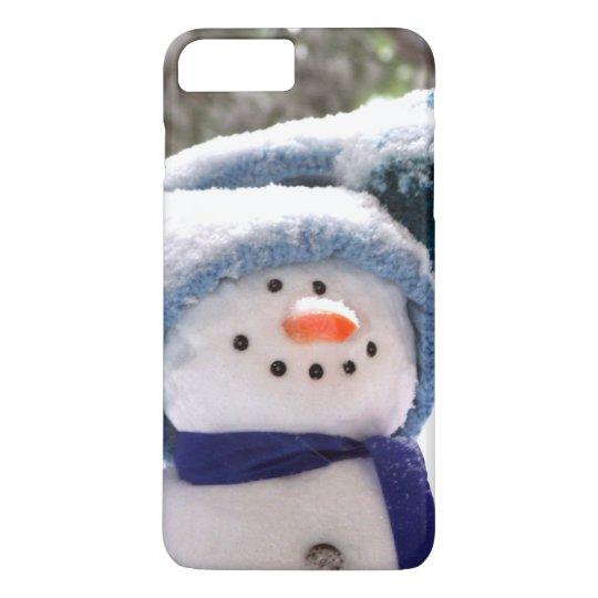 Happy Handmade Snowman iPhone 7 Case