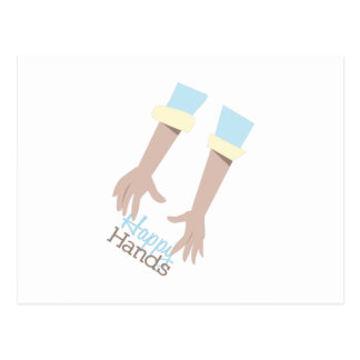 Happy Hands Postcard