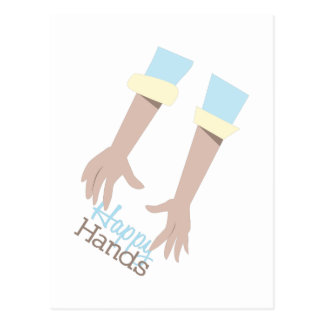 Happy Hands Postcard