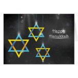 Happy Hanukkah background Cards