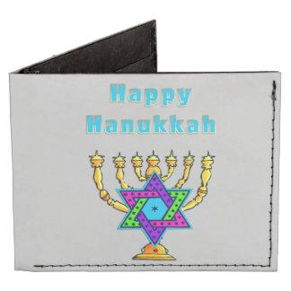 Happy Hanukkah Billfold Wallet