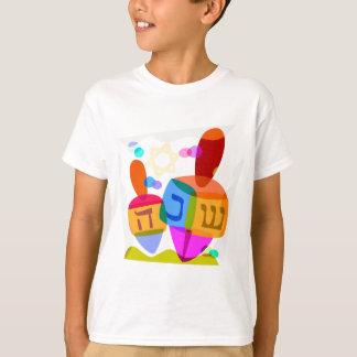 Happy Hanukkah Bright Dreidels T-Shirt