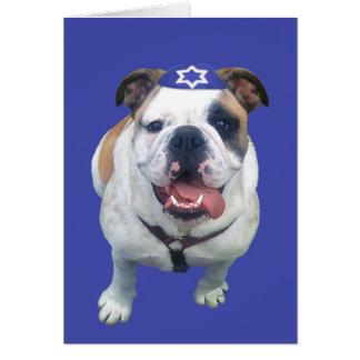 Happy Hanukkah Card for Boy (Notecard)