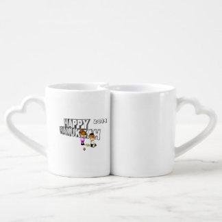 Happy Hanukkah Celebration - Lovers Mug