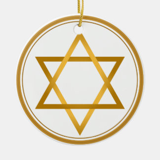Happy Hanukkah Christmas Ornament