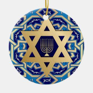 Happy Hanukkah! Custom Year Ornaments