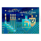 Happy Hanukkah. Customisable Greeting Cards