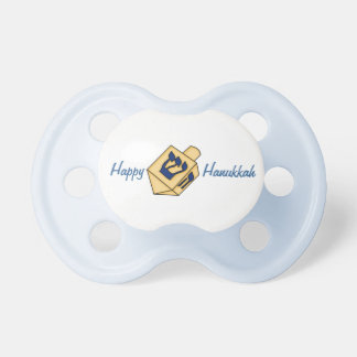 Happy Hanukkah-Cute Dreidel Pacifiers
