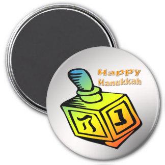 Happy Hanukkah - Dreidel Magnet