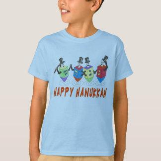 Happy Hanukkah Dreidels t shirt