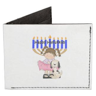 Happy Hanukkah Friends Billfold Wallet