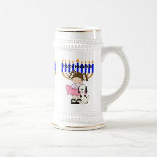 Happy Hanukkah Friends Mugs