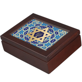 Happy Hanukkah. Hanukkah Gift Keepsake Box