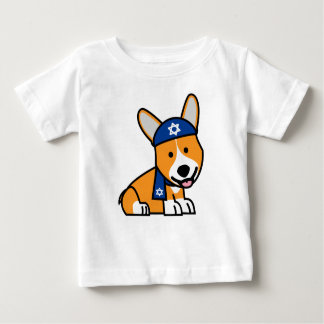 Happy Hanukkah Jewish Corgi Corgis Dog Puppy Baby T-Shirt
