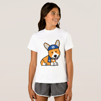 Happy Hanukkah Jewish Corgi Corgis Dog Puppy T-Shirt