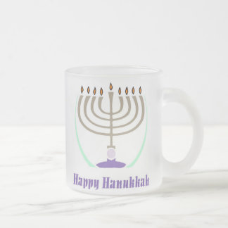 Happy Hanukkah Menorah Mug