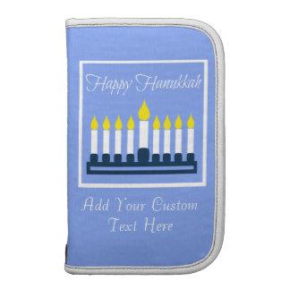 Happy Hanukkah Menorah Organizer