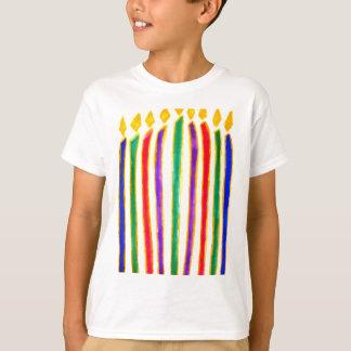 Happy Hanukkah Menorah T-Shirt