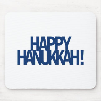 Happy Hanukkah Mouse Pad