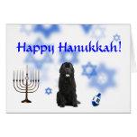 Happy Hanukkah Newfoundland Greeting Card