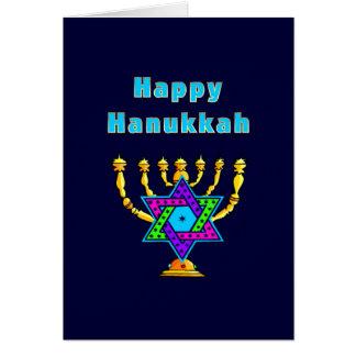 Happy Hanukkah Note Card