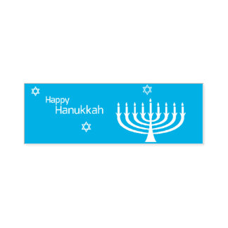 Happy Hanukkah Self-inking Stamp