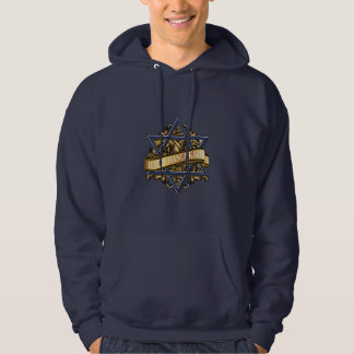 Happy Hanukkah Star of David Greeting Hoodie
