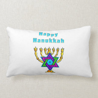 Happy Hanukkah Throw Pillows