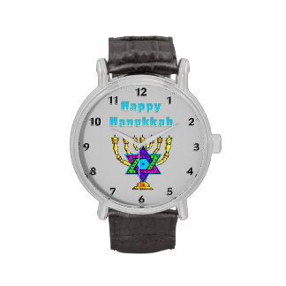 Happy Hanukkah Wristwatches