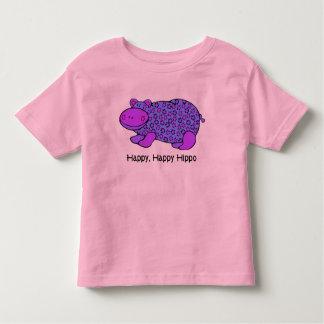 Happy, Happy Hippo Tee Shirt