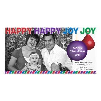 Happy Happy Joy Joy Christmas Card