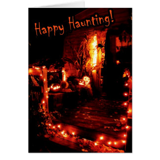 Happy Haunting Greeting Card