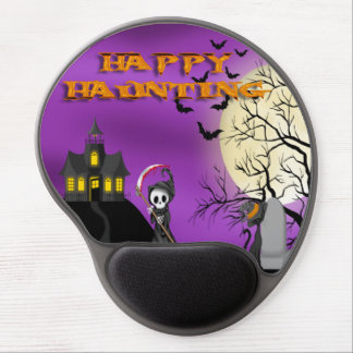 Happy Haunting Reaper Gel Mouse pad