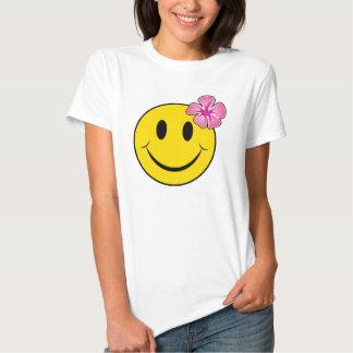 Happy Hawaiian - pink T-shirt