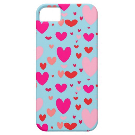 Happy hearts iPhone 5/5s case
