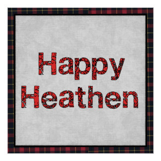 Happy Heathen Poster