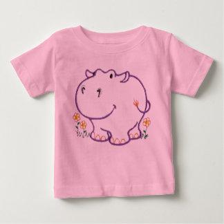 Happy Hippo Baby T-Shirt