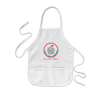 Happy Hippo Christmas: Personalized Holiday Kids Apron