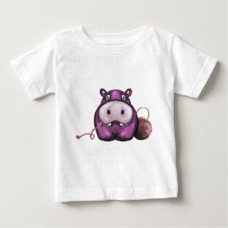 Happy Hippo Crochet Hippo Baby T-Shirt