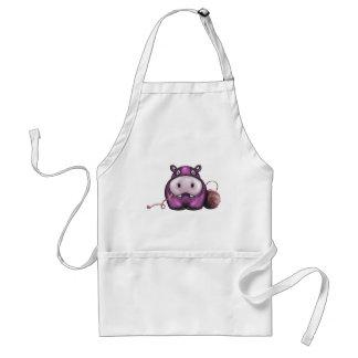 Happy Hippo Crochet Hippo Standard Apron