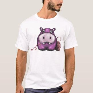 Happy Hippo Crochet Hippo T-Shirt