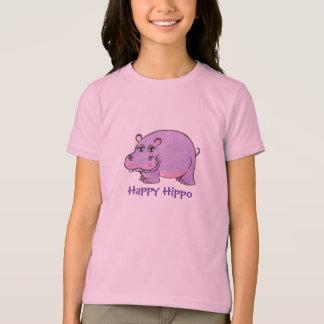 Happy Hippo - T-shirt