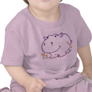 Happy Hippo Tee Shirt