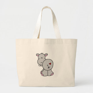Happy Hippo Tshirts and Gifts Tote Bags
