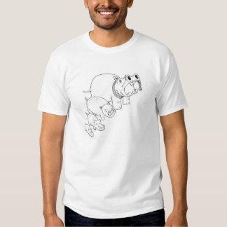 Happy Hippos T Shirts
